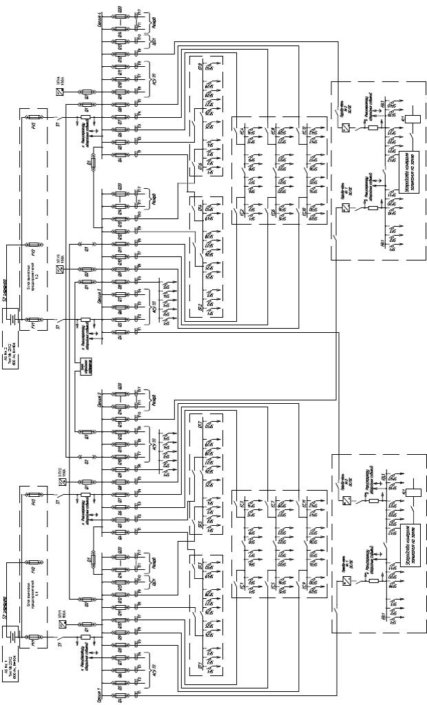 Б Однолинейная схема СОПТ